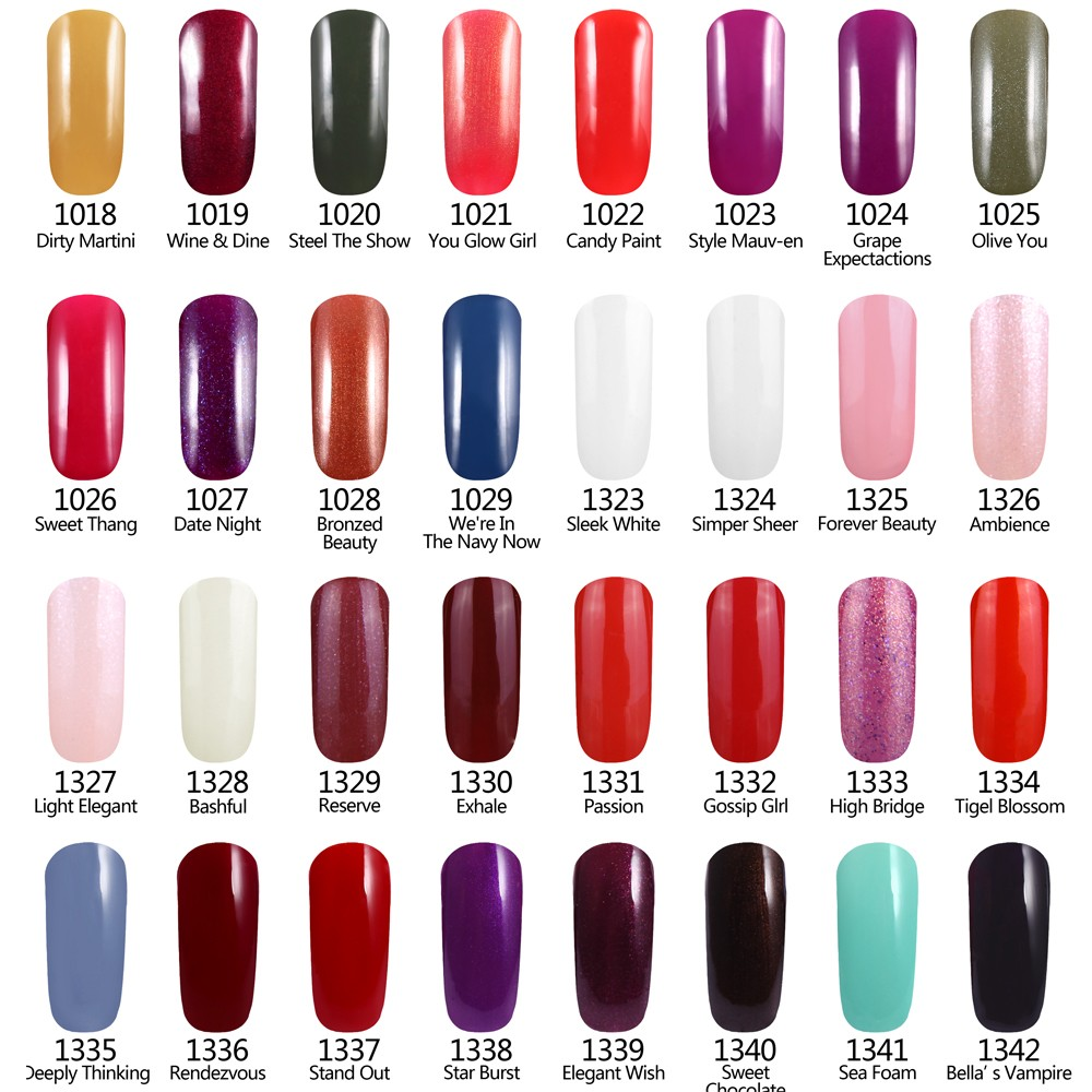 Smiling Angel Black Dark UV Nail Gel Polish LED UV Soak off Gel Lacquer 8ml Long Lasting Nail Gelpolish French Manicure 07