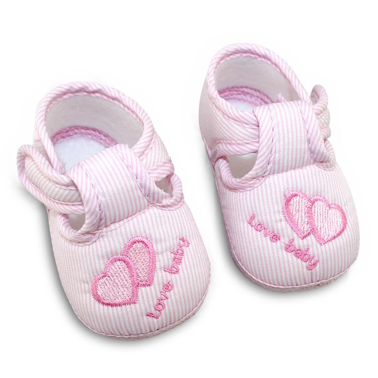 Cotton Lovely Baby Shoes Toddler Unisex Soft Sole Skid-proof 0-12 Months Kids infant - Feedback(835 store  Orders (3203))