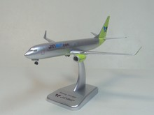737-800 Jin Air Hogan 1:400 Han Guozhen aircraft model(China (Mainland))