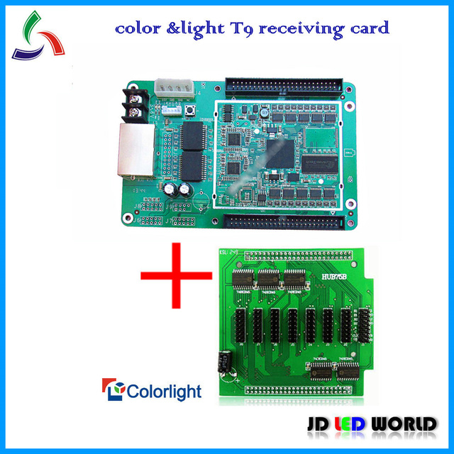 colorlight T9 synchronous full color LED display screen controller  c&light receiveing card T9