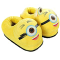 Cotton Slippers Winter Slippers 2016 New Winter Minions Child Household Shoe Bag Minions Warm Shoes   TCCS60891