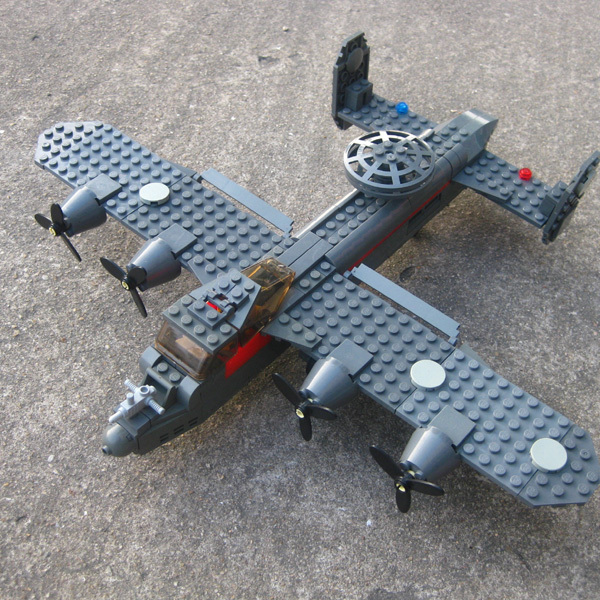 Free shipping KAZI 281PCS Military Army Reconnaissance Aircraft G-1 model enlighten blocks eductional toys; Compatible With Lego<br><br>Aliexpress
