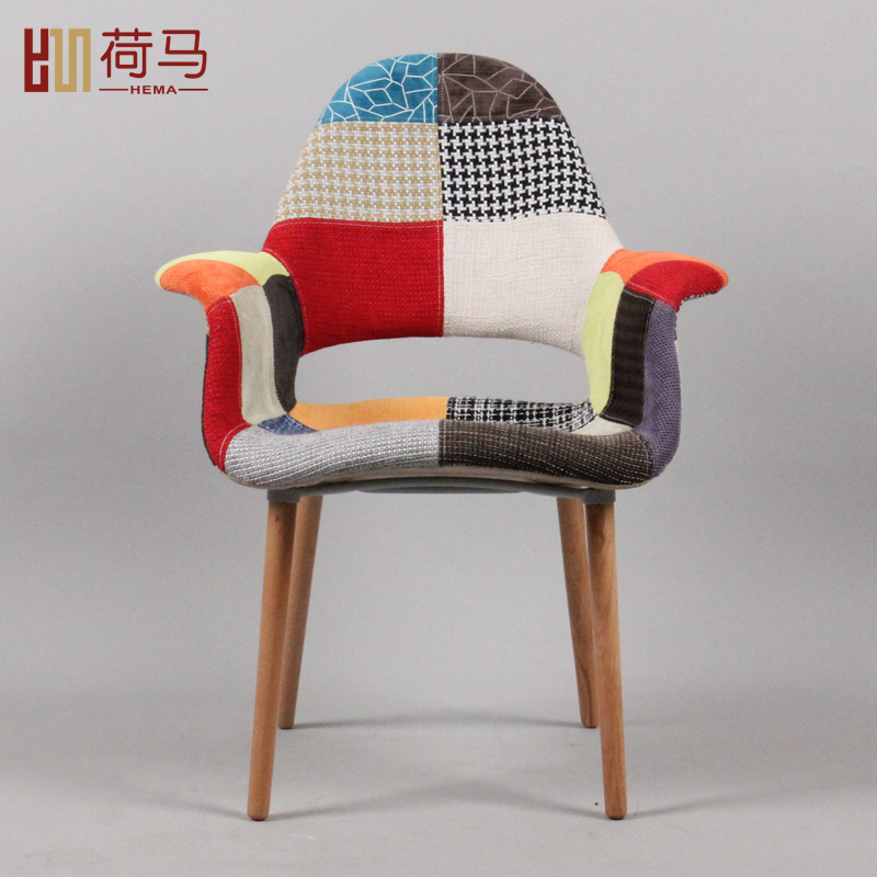 Homer European Fashion Sofa Lounge Chair Dining Chair Wood