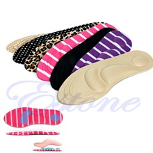 3D Sponge Soft Insole Comfort High Heel Shoe Pad Pain Relief Insert Cushion Pad(China (Mainland))