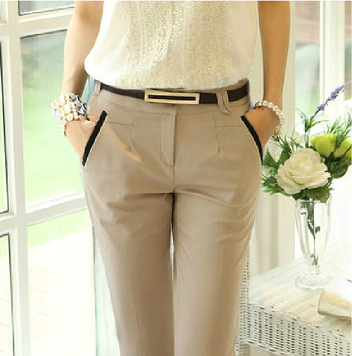 2014 new fashion women legging pants female casual long trousers plus size harem - iGem store