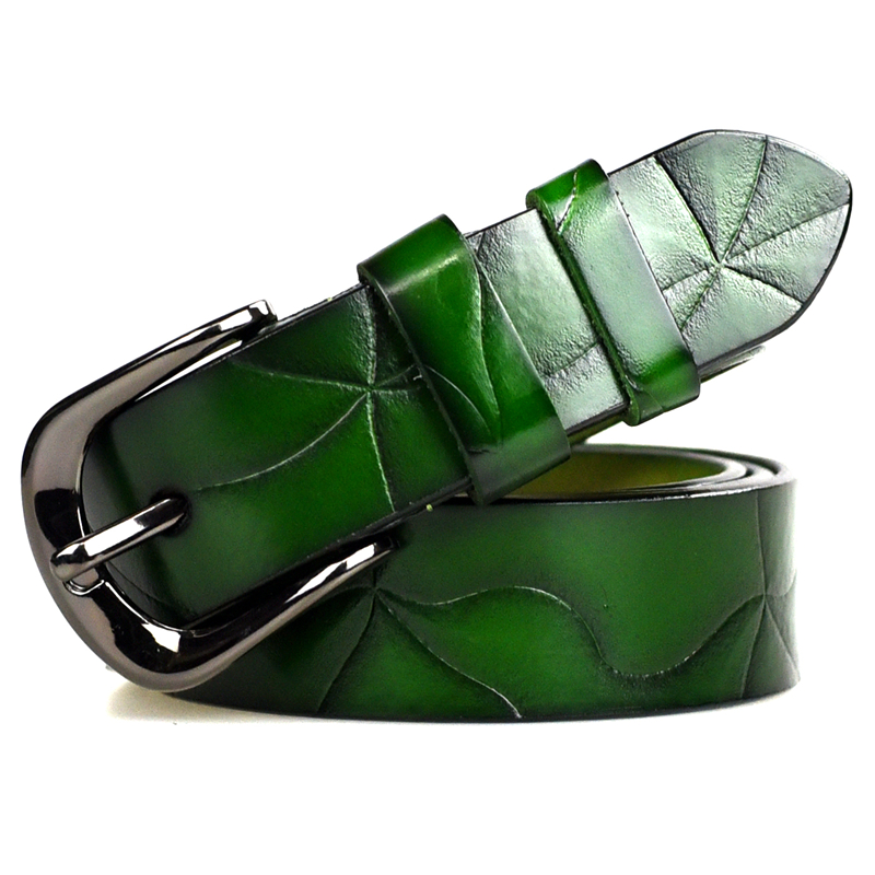 Women Belt Female High Quality Designer Belt Ladies 100% Genuine Leather Jeans luxury Strap Belts For Women(China (Mainland))