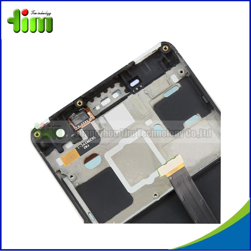 5 pcs For Xiaomi 4 mi4 m4 LCD Display + Touch Screen Digitizer Replacement Parts With Frame For Xiaomi 4 LCD Black White
