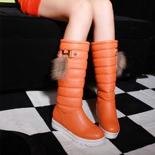 2014 Otoño y el invierno engrosamiento térmica impermeable botas de nieve de algodón botas botas de nieve zapatos de moda al aire libre zapatos XY105(China (Mainland))