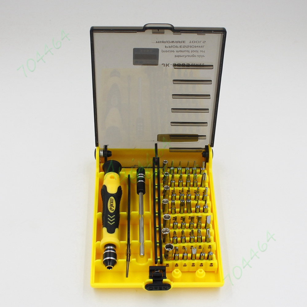 screwdriver set 45 in 1 multi bit kit iphone phone apple cellphone laptop pc repair tools torx. Black Bedroom Furniture Sets. Home Design Ideas