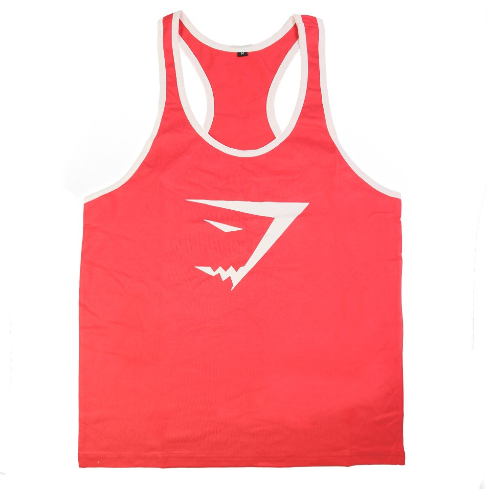 Brand Men Gym Singlets Mens Cotton Tank Tops Stringer Bodybuilding Equipment Fitness Men's GYM Shirts Sports Clothes - Olivia's Stylism Boutique store