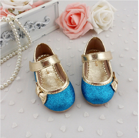 free shipping New arrival baby Glitter Shoes Party Toddler