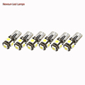 2014 Newest Product T10 Canbus Bulbs W5W 5SMD 5050 2 8W 12V Car Warning Light Lamp