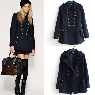 Womens wool coats navy – Modern fashion jacket photo blog