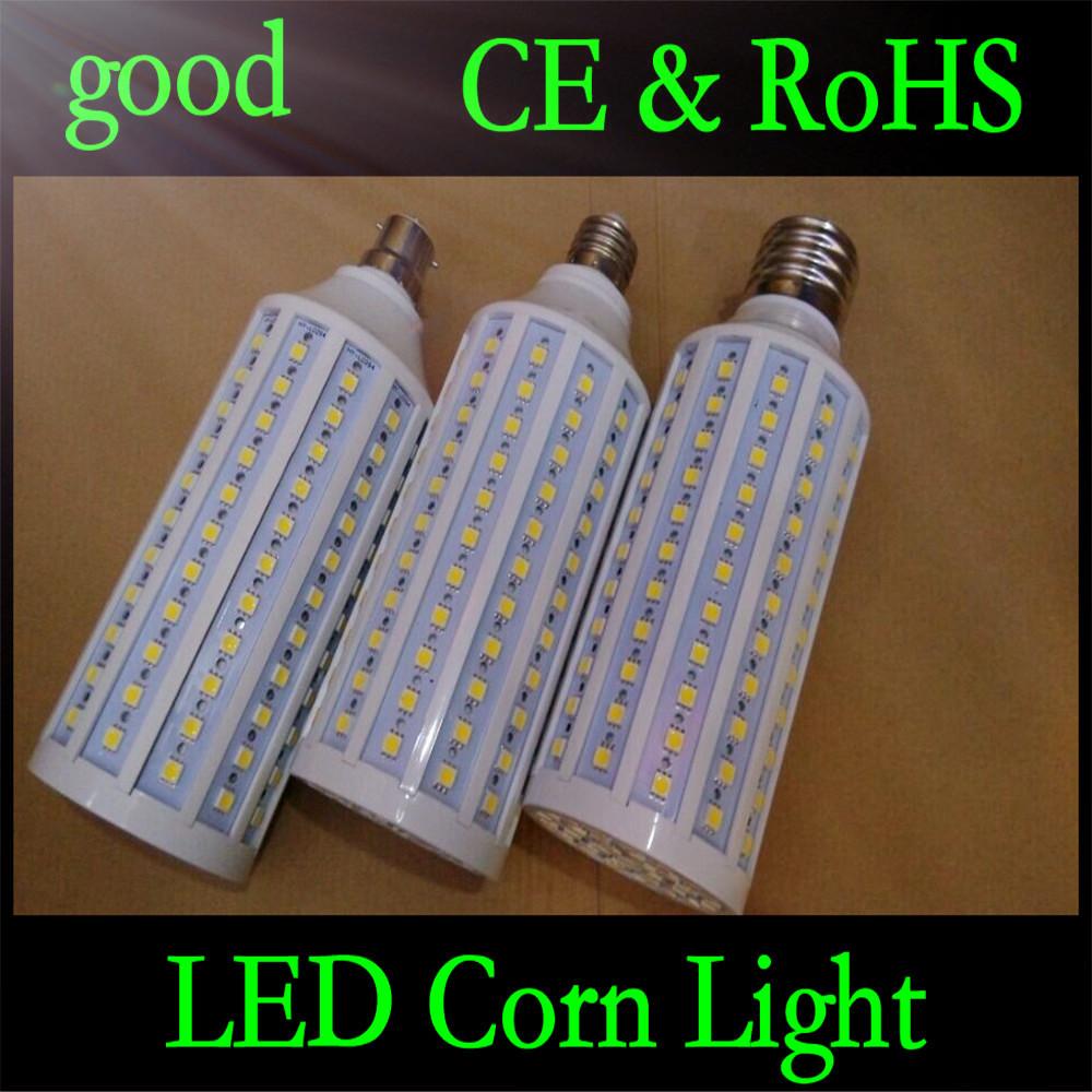 E27 B22 E40 30W 5050 SMD 165 LED Chip Corn Light AC110V/220V Warm/White Bulb Maize Lamp Home Indoor Outdoor street lighting 1pcs(China (Mainland))
