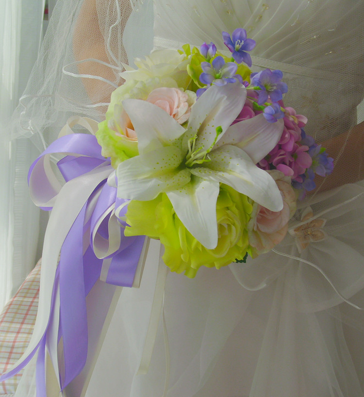 Bridal Bouquets 2014 New 2014 Cascade Foam Bouquet