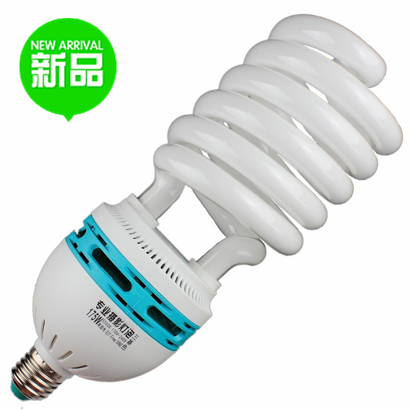 daylight bulb light 5500k video super bright 4 pieces 175w professional photography pure long CP - Adearstudio store
