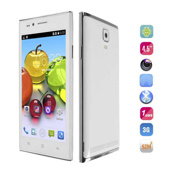 """In stock The cheap Original MG7 Mobile phone 4.5"""" Screen MTK6572 Cored Quad Android 4.4 Dual Core WCDMA cell phones unlock G2 G6(China (Mainland))"""