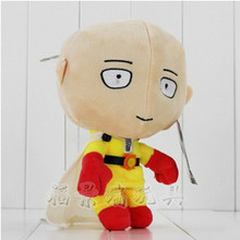 One Punch Man Action Figure 2016 Japanese Anime Superman ONE PUNCH MAN 22CM Plush Doll Stuffed Toy Dolls
