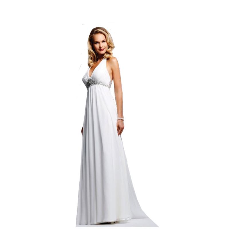 Wedding Dresses With Halter Top: Online Buy Wholesale Halter Top Beach Wedding Dresses From
