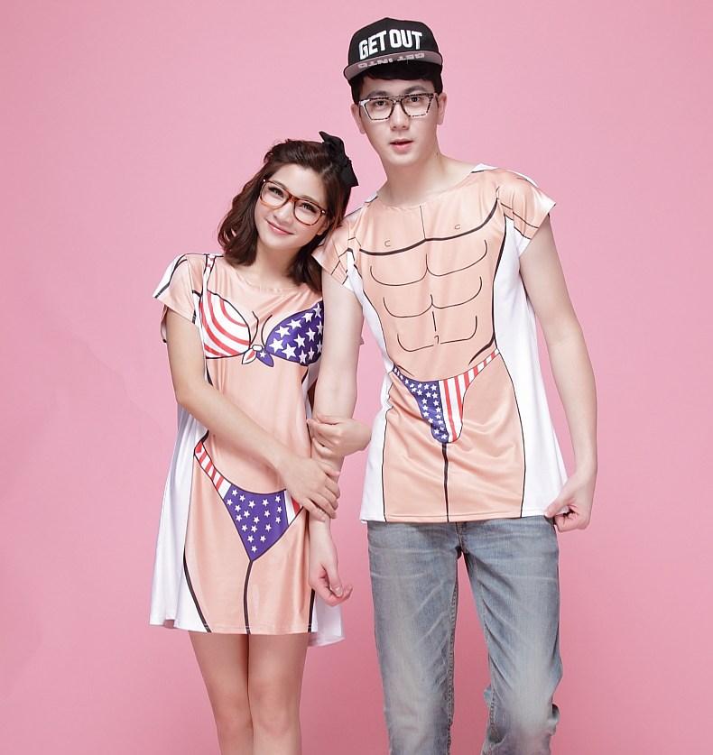 parejas swimwear