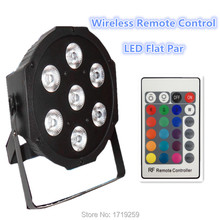 Buy 12pieces/lot Wireless remote control LED SlimPar 7x12W RGBW 4IN1 LED DJ Wash Light Stage Uplighting Noise Free for $335.00 in AliExpress store