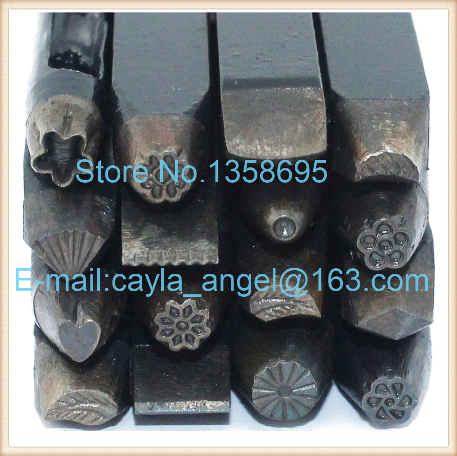 Metal Anvil Assorted Punches for Jewelry Punches Carved Flower Temporarily Golden Chisel Jewelry Tools and Equipment for DIY<br><br>Aliexpress