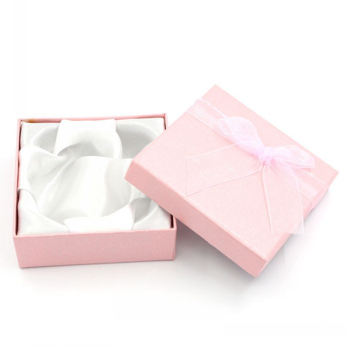 6 Pink Jewelry European Charm Bracelet&Watch Gift Boxes Cases Display 90mmx90mmx30mm Mr.Jewelry(China (Mainland))