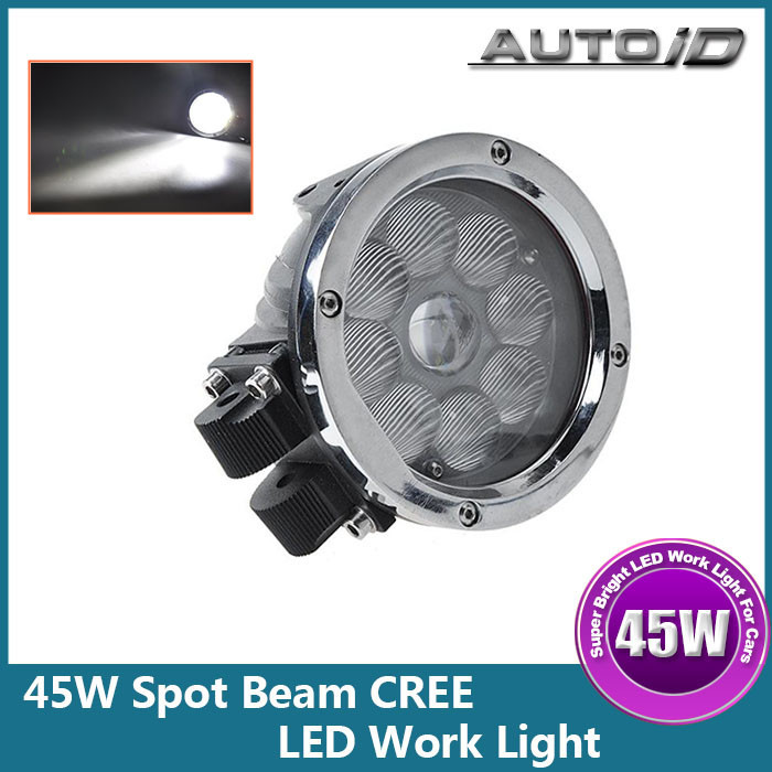 New Bright 5.5 Inch 45W CREE LED Driving Work Light Spot Beam for Truck Offroad Boat ATV SUV<br><br>Aliexpress
