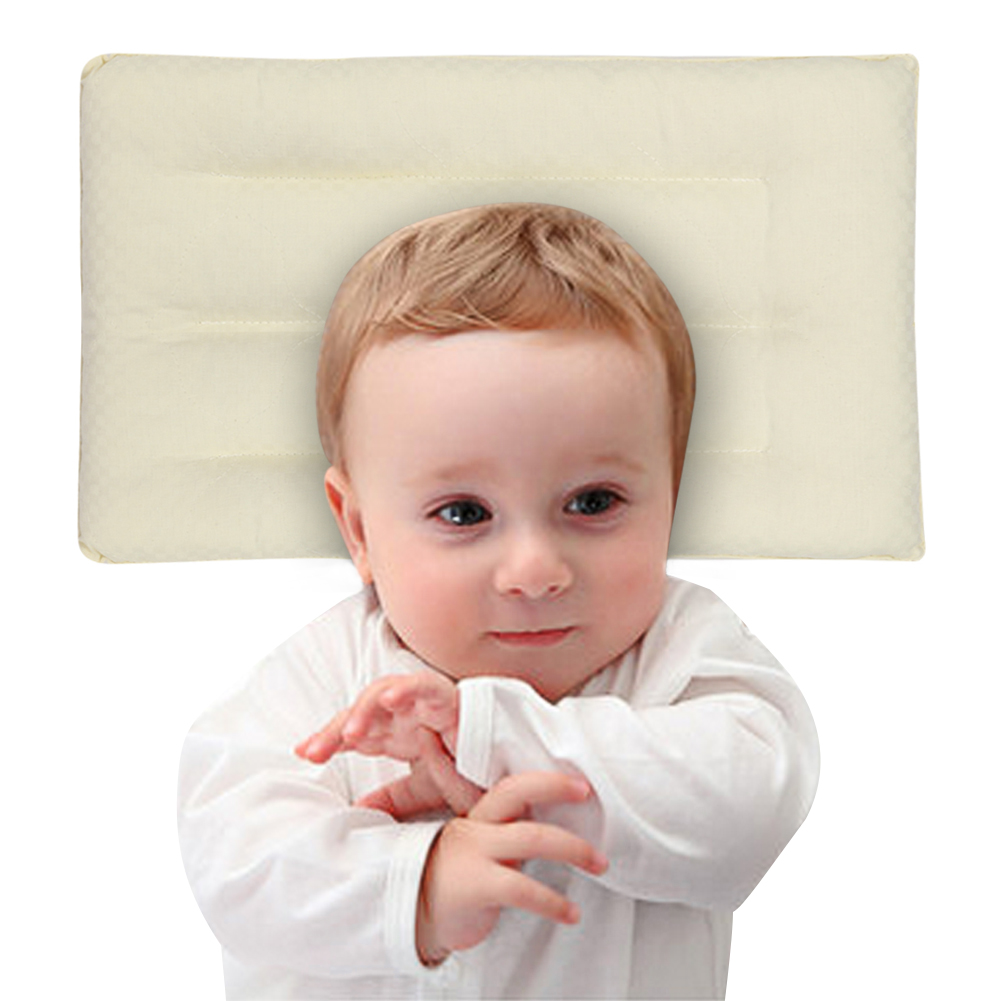 Kids Sleeping Pillow Baby Pillow Natural Plant Fiber Baby Pillows to Sleep Nursing Babies Kids Sleeping Supplier 43*26cm(China (Mainland))