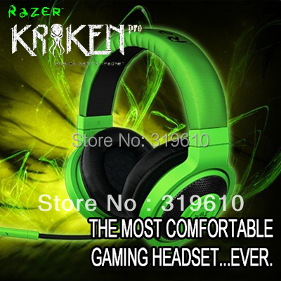 Razer Kraken Pro Gaming Headset, Brand New, Without Retail Box, Fast& Free shipping, In stock.(China (Mainland))