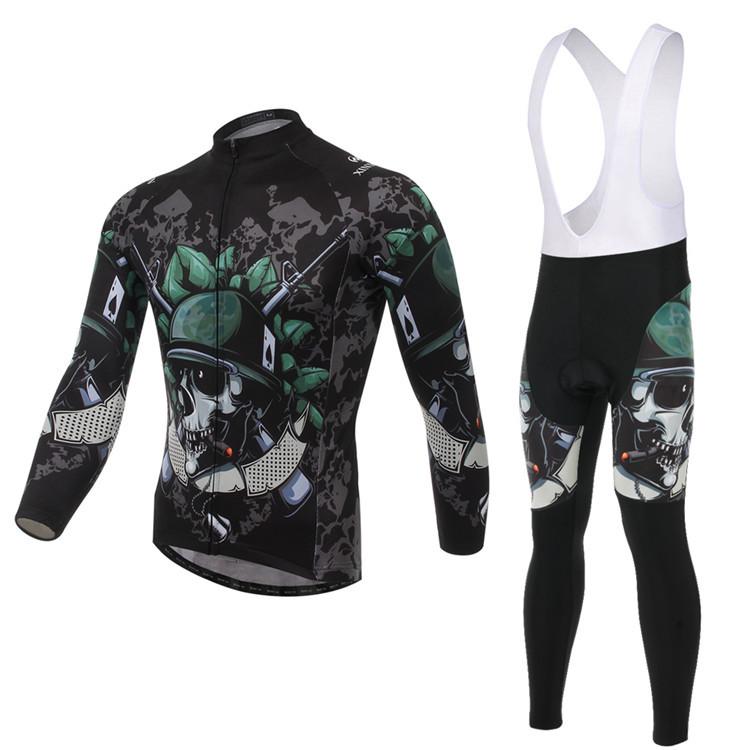 2015 New Mens Full Cycling Jerseys Bib Pants 3D Gel Pad DH Trekking Mountain Bike Bicycle Sports Compression Sets Cycle Clothing(China (Mainland))