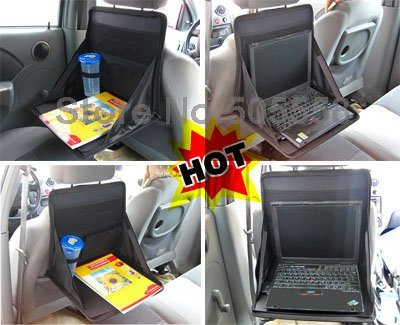 FREE SHIPPING MULT IFUNCTIONAL CAR LAPTOP DESK HOLDER, NOTEBOOK TABLE TRAY