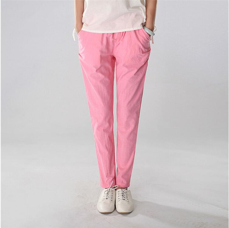 2015 spring summer sport Women pants leisure pant slim fashion liner pencil S-XL free shiping - Dream store