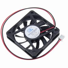 20 pcs lot GDT DC 5Volt 2Pin 6cm Processor Cooling Fan 60 60x10mm 60mm Cooler 6010