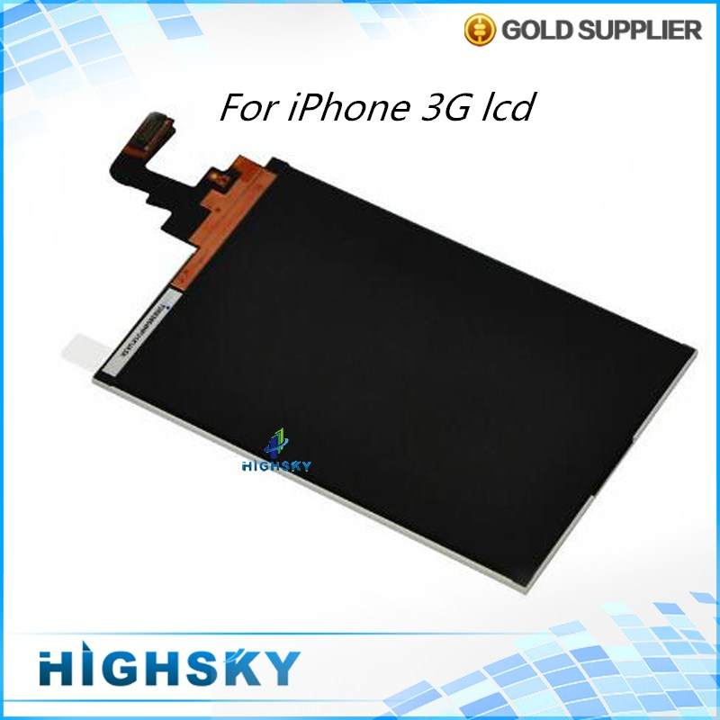 Tested High Quality Replacement Part For iPhone 3G LCD Screen Display 1 Piece Free Shipping(China (Mainland))