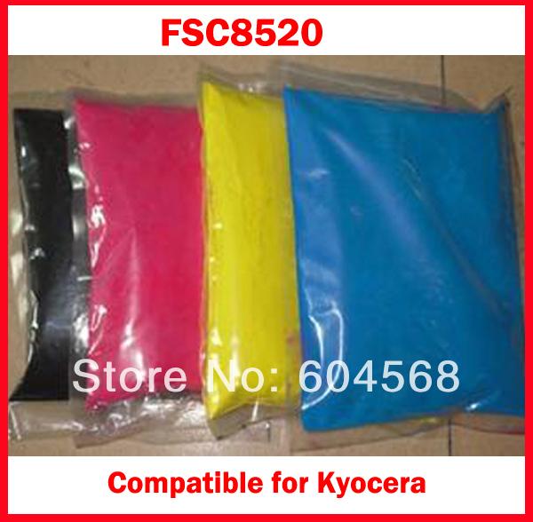 Compatible Kyocera FSC8520/FS-C8520/8520 Chemical Color Toner Powder - Copier and Printer Toner&Chip Factory store