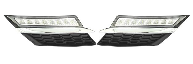 LED Daytime Running Light RAV4 RAV 4 2013 2014 Toyota Daylight Auto DRL Car Fog Lamp LED Top Quality Free Shipping<br><br>Aliexpress