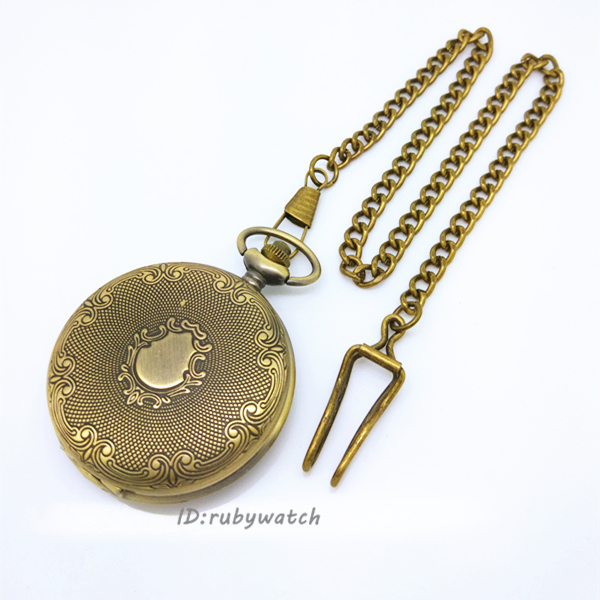 good quality sample design big size pocket watch for free shipping(China (Mainland))
