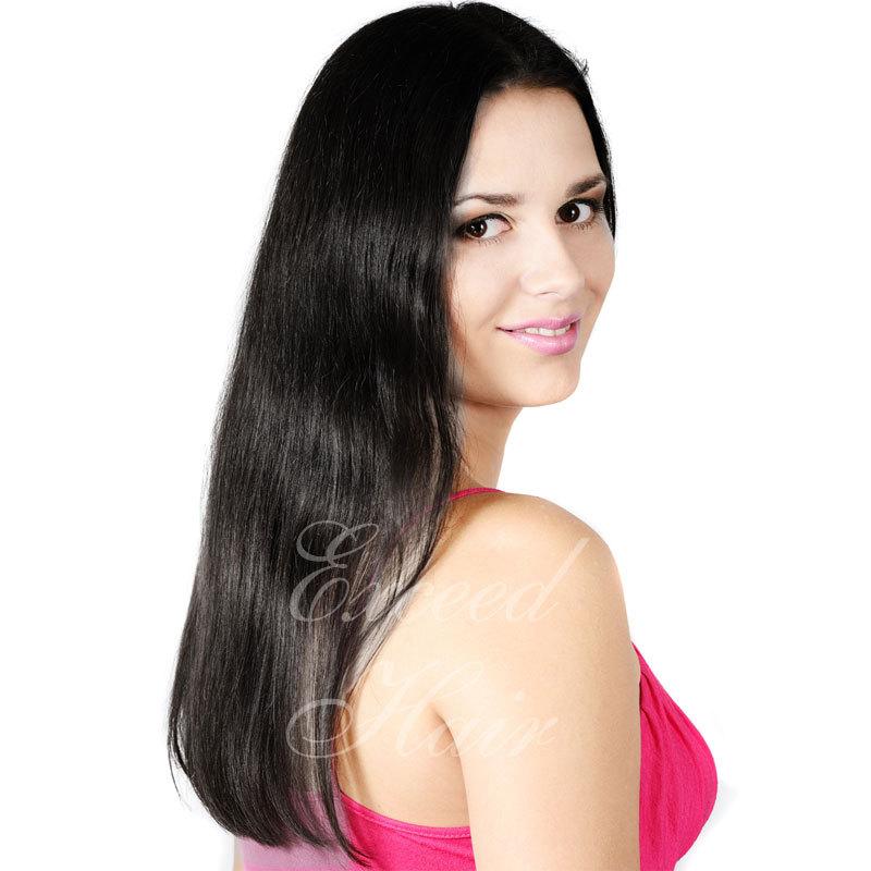 Фотография Brazilian Virgin Hair wig caps for making wigs Brazilian Straight Virgin Hair 8-24inch full lace human hair wigs for black women