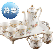 2015 coffee tea sets European design bone china Coffee sets suits