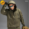 Outdoors Winter TAD Shark Skin Soft Shell Charge Pressure Rubber Waterproof Thermal Camouflage Thick Fleece Tactical