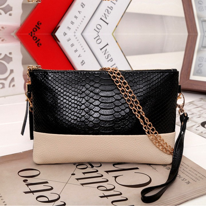 Women Synthetic Leather Vitage Design Tassel Bag Clutch handbags Day Shoulder Messenger 5 Colors b6 SV008313 - Classic shop store