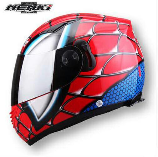 2016 New Nenki Mx830 Iron Spider Man Motorcycle Helmet