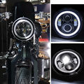 Fit For Harley Davidson Road King Street Glide Softail 7 Projector Motorcycle LED Headlight