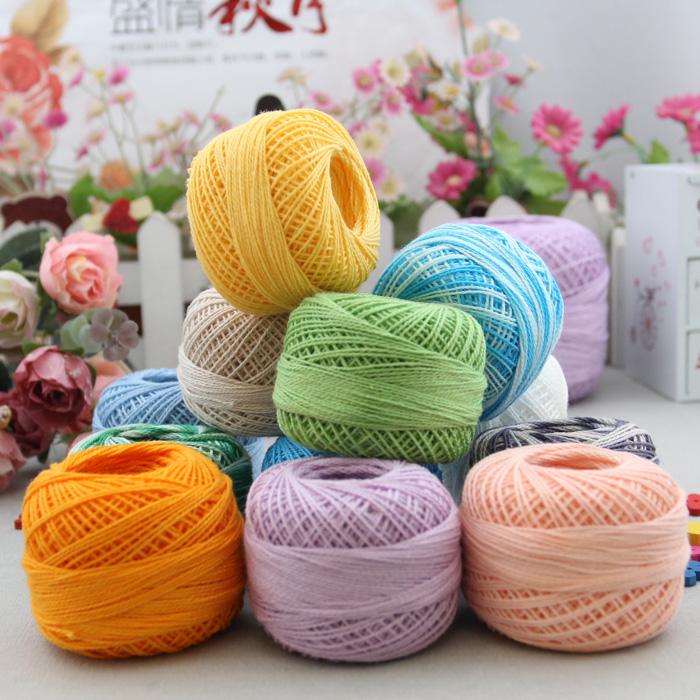 Crocheting Yarn For Sale : Sale! Free shipping best quality #8 lace yarn crochet yarn summer ...