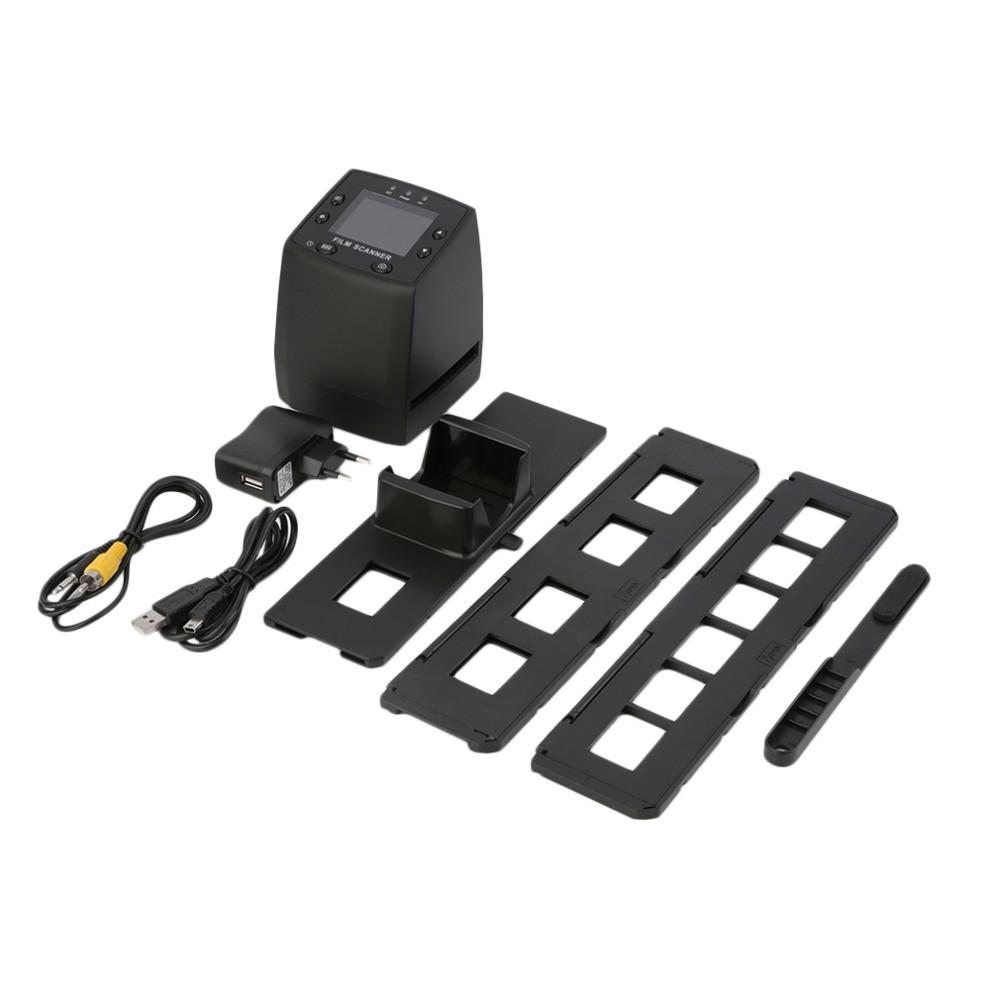 """High-Resolution 35mm/135mm Negative Film & Slide Scanner 2.4"""" LCD Digital Converts Negative Film Slides Photo Scan Reader(China (Mainland))"""