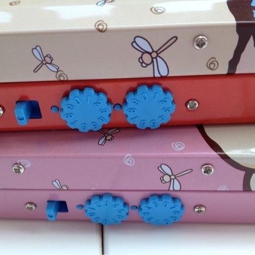 Hearts . gift chalybeate password box double layer chalybeate stationery box