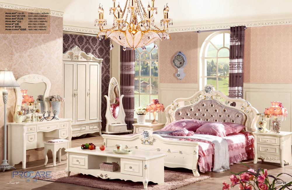 Popular Princess Bedroom Furniture Buy Cheap Furniture Lots From China