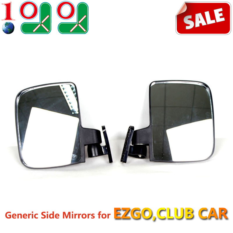 10L0L Generic Side Mirrors EZGO Club Car Others (One Pair Sale) Golf cart Accessories/part 80014 - Mall 9.99 store
