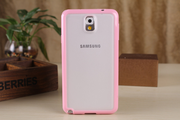 Soft tpu pc clear back case cover for samsung galaxy note for Housse telephone samsung galaxy note 3